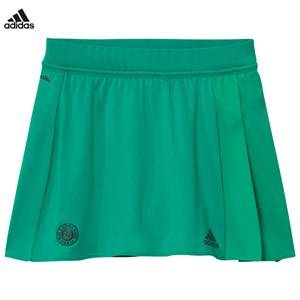 adidas Performance Girls Skirts Green Green Roland Garros Tennis Skirt