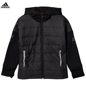 adidas Performance Boys Coats and jackets Black Black Messi Zip Jacket