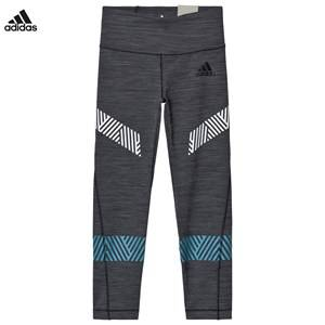 adidas Performance Girls Bottoms Grey Grey Performance Training Leggings