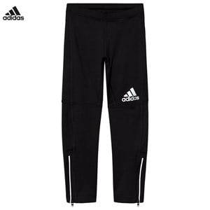 adidas Performance Boys Baselayers Black Black Running Baselayer Tights