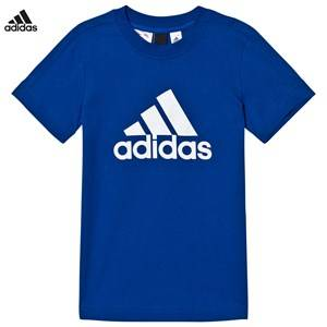 adidas Performance Boys Tops Navy Navy Logo Tee