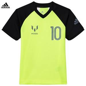 adidas Performance Boys Tops Yellow Yellow Messi Icon Tee