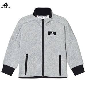 adidas Performance Boys Jumpers and knitwear Grey Grey Full Zip Track Top