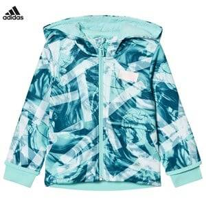 adidas Performance Girls Jumpers and knitwear White Disney Frozen Full Zip Hoodie