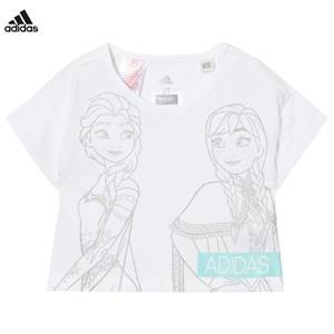 adidas Performance Girls Tops White Disney Frozen Tee