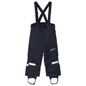 Didriksons Unisex Bottoms Blue Idre Kid´s Pants Navy