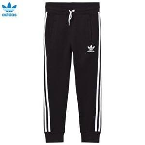adidas Originals Unisex Bottoms Black Black Logo Sweatpants
