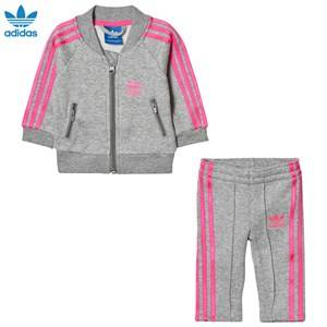 adidas Originals Boys Clothing sets Grey Grey Infants Track