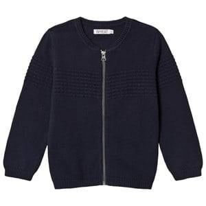 Wheat Unisex Jumpers and knitwear Navy Knit Sailor Cardigan Navy