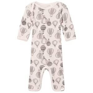 Celavi Unisex All in ones Pink Wool Baby One-Piece Pink