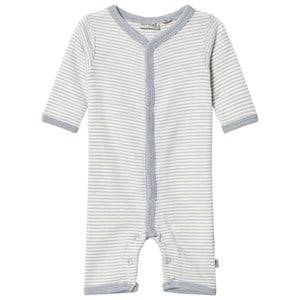 Wheat Unisex All in ones Grey Stripe One-Piece Dusty Dove