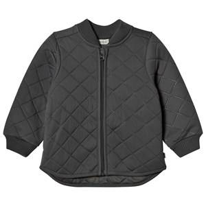 Wheat Unisex Coats and jackets Black Thermo Jacket Loui Charcoal