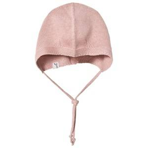 Wheat Girls Headwear Pink Knitted Baby Hat Rose Powder