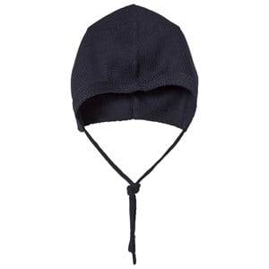 Wheat Unisex Headwear Navy Knitted Baby Hat Navy