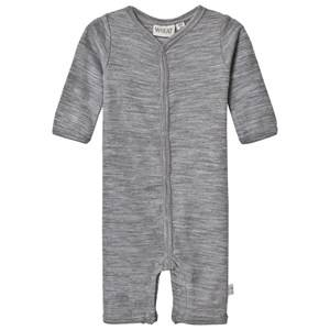 Wheat Unisex All in ones Grey One-Piece Grey