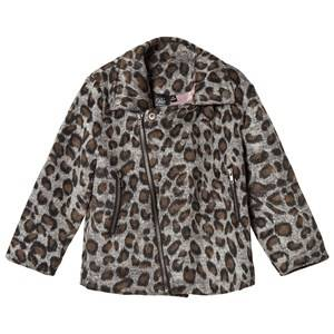 Petit by Sofie Schnoor Girls Coats and jackets Grey Jacket Leopard Grey