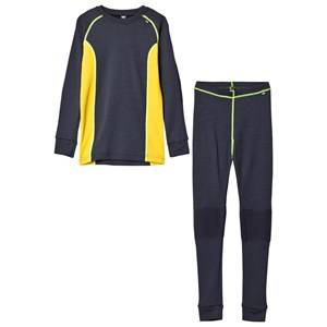 Helly Hansen Boys Baselayers Navy HH® Lifa Merino Junior Baselayer Set Navy