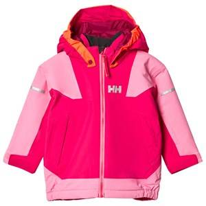 Helly Hansen Girls Coats and jackets Pink Kids Velocity 2 Ski Jacket Pink