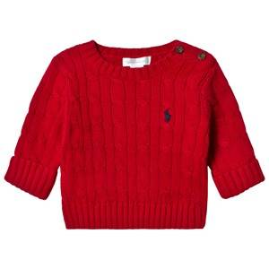 Ralph Lauren Boys Jumpers and knitwear Red Red Cable Knit Sweater