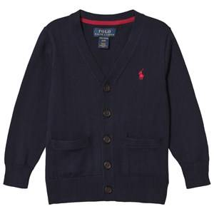 Ralph Lauren Boys Jumpers and knitwear Navy Long Sleeve Cardigan Navy