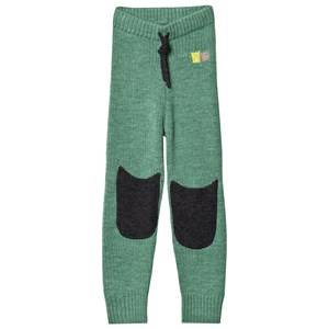 Kattnakken Unisex Bottoms Green Wool Pants Pistachio Green