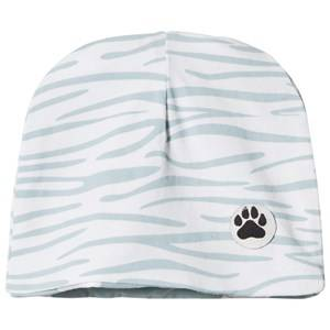 Little LuWi Unisex Commission Headwear White Reversible Blue Tiger/Cow Hat