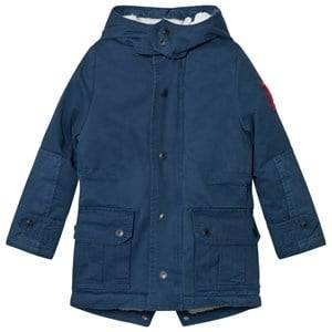 Little Marc Jacobs Boys Coats and jackets Blue Blue Hooded Parka