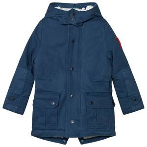 Little Marc Jacobs Boys Coats and jackets Blue Hooded Parka