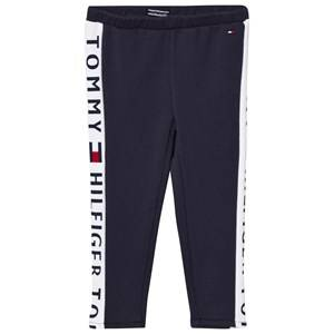 Tommy Hilfiger Girls Bottoms Navy Navy Branded Panel Leggings