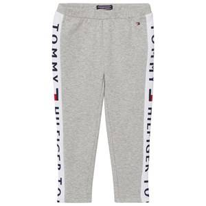 Tommy Hilfiger Girls Bottoms Grey Grey Branded Panel Leggings