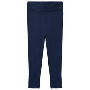 FUB Unisex Bottoms Blue Extra Fine Leggings Dark Blue
