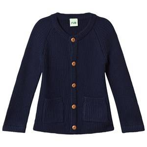 FUB Unisex Coats and jackets Knit Jacket Navy
