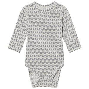 Hust&Claire; Boys All in ones Baby Body Bamboo Flint Grey
