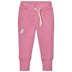 Gugguu Girls Bottoms Pink Slim Baggy Pants Heather Rose