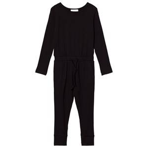 Gugguu Unisex All in ones Black Viscose One Piece Black