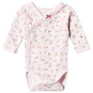 Petit Bateau Girls All in ones Pink Floral Baby Body Pink