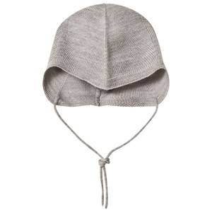 FUB Unisex Headwear Grey Baby Hat Light Grey