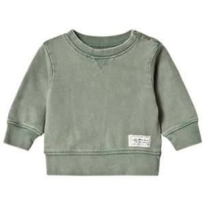 I Dig Denim Boys Jumpers and knitwear Green Bill Sweater Green Washed
