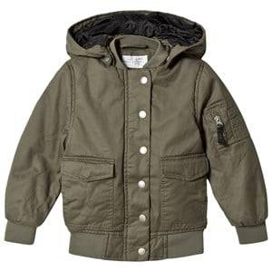 I Dig Denim Unisex Coats and jackets Green Leo Jacket Olive