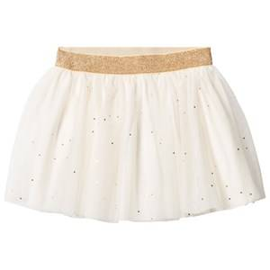 Petit Bateau Girls Skirts White Creme Tulle Skirt
