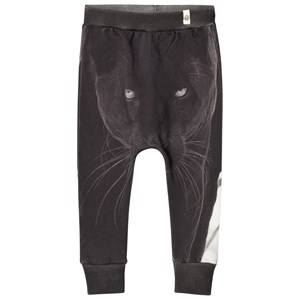 Popupshop Unisex Bottoms Grey Panther Baggy Leggings
