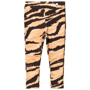 Popupshop Unisex Bottoms Beige Brown Tiger Sunday Pants