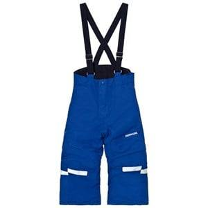 Didriksons Unisex Bottoms Blue Idre Kids Pants Cobolt