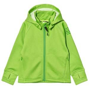 Isbjörn Of Sweden Unisex Fleeces Green PANDA Fleece Hoodie Lemongrass