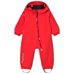 Isbjörn Of Sweden Unisex Coveralls Red TODDLER Padded Jumpsuit Love