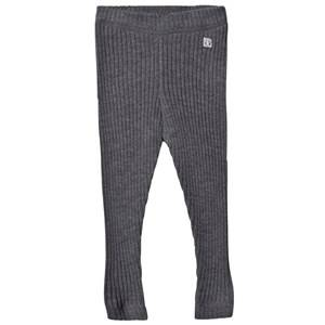 Hust&Claire; Unisex Bottoms Grey Leggings Anthracite