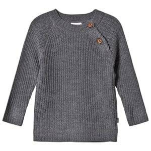 Hust&Claire; Unisex Jumpers and knitwear Grey Sweater Anthracite