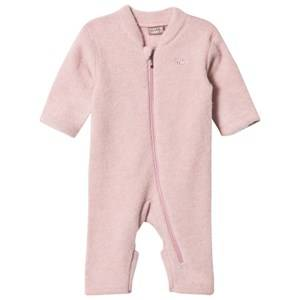 Hust&Claire; Girls All in ones Pink Wool One-Piece Dusty Rose