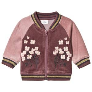 Hust&Claire; Girls Jumpers and knitwear Purple Cardigan Plum