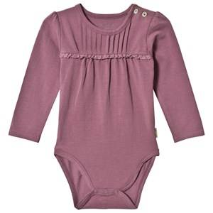 Hust&Claire; Girls All in ones Purple Baby Body Plum
